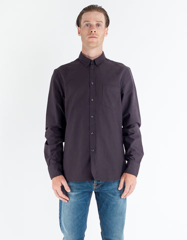 Filippa K Paul Oxford Shirt Slate Black