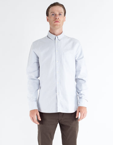 Filippa K Paul Oxford Shirt White Fog