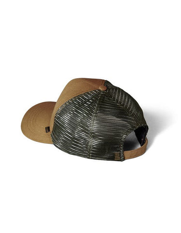 Filson Logger Mesh Cap Light Brown Green