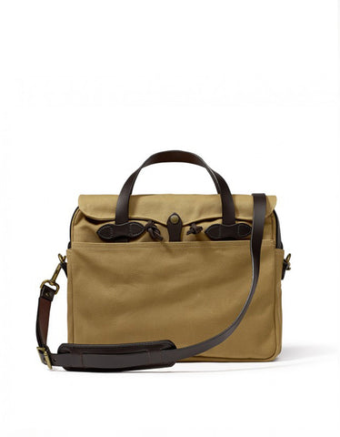 Filson Original Twill Briefcase Tan
