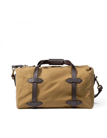 Filson Rugged Twill Small Duffle, Tan - Still Life - 2