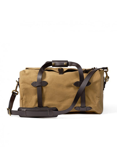 Filson Rugged Twill Small Duffle, Tan - Still Life - 1