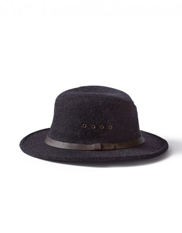 Filson Wool Packer Hat Charcoal - Still Life