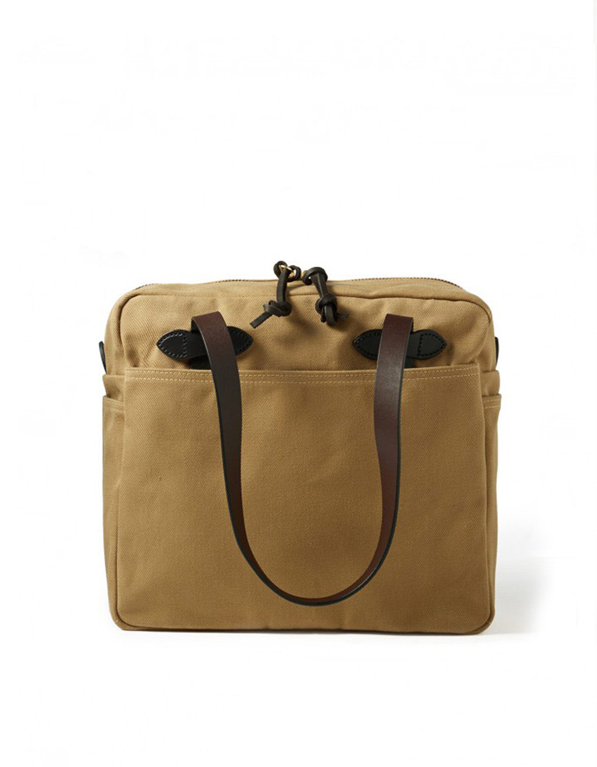 Filson Zippered Tote Tan