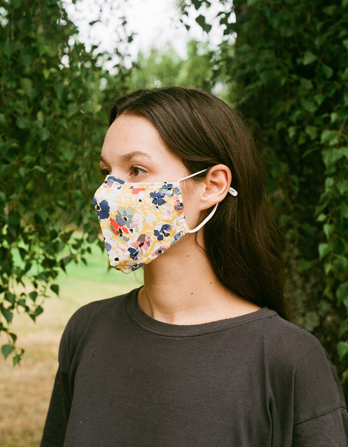 Find Me Now Double Layer Reusable Mask Multi Yellow