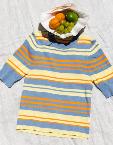 Find Me Now Dylan Striped Top Stripe Multi