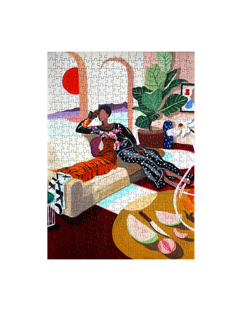 Fits Puzzles Tiger Queen - 1000 PC