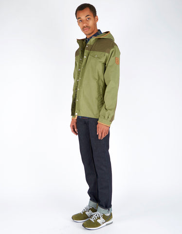 Fjallraven Greenland No. 1 Special Edition Coat Green Tarmac - Still Life - 2