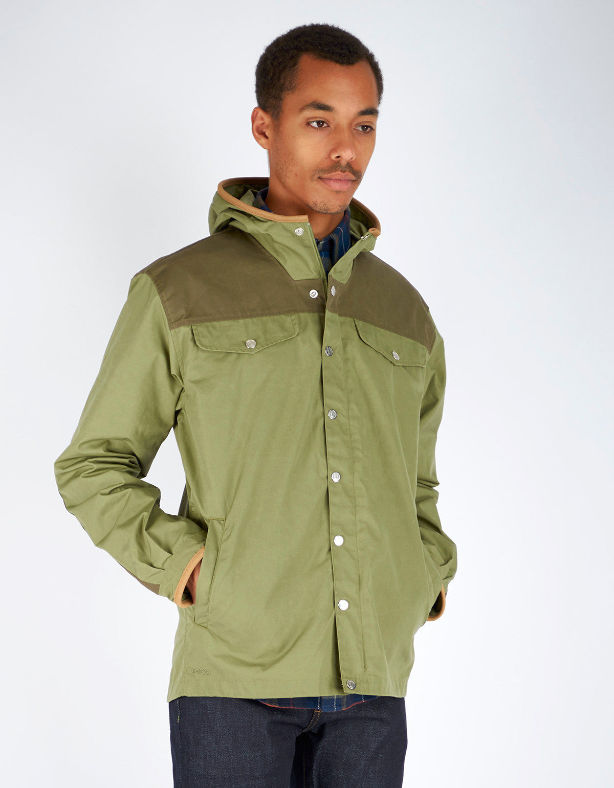 Fjallraven Greenland No. 1 Special Edition Coat Green Tarmac - Still Life - 4