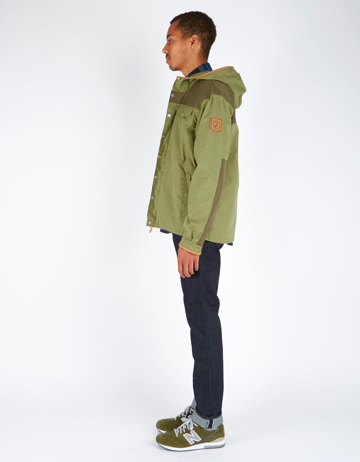 Fjallraven Greenland No. 1 Special Edition Coat Green Tarmac - Still Life - 6