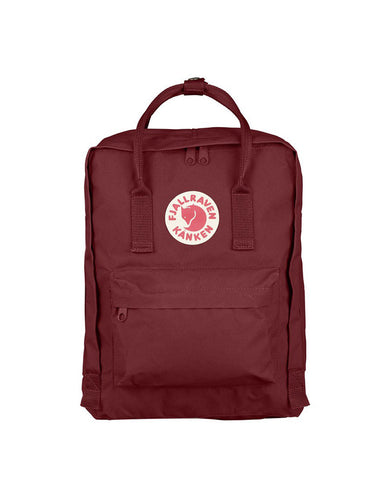 Fjallraven Kanken Backpack Ox Red - Still Life