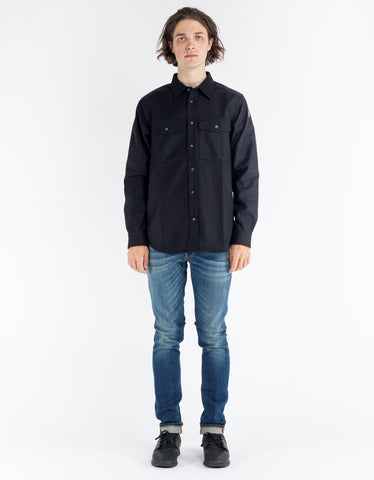 Fjallraven Ovik Re Wool Shirt LS Black