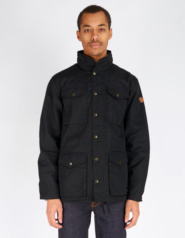 Fjallraven Raven Jacket Black - Still Life - 1