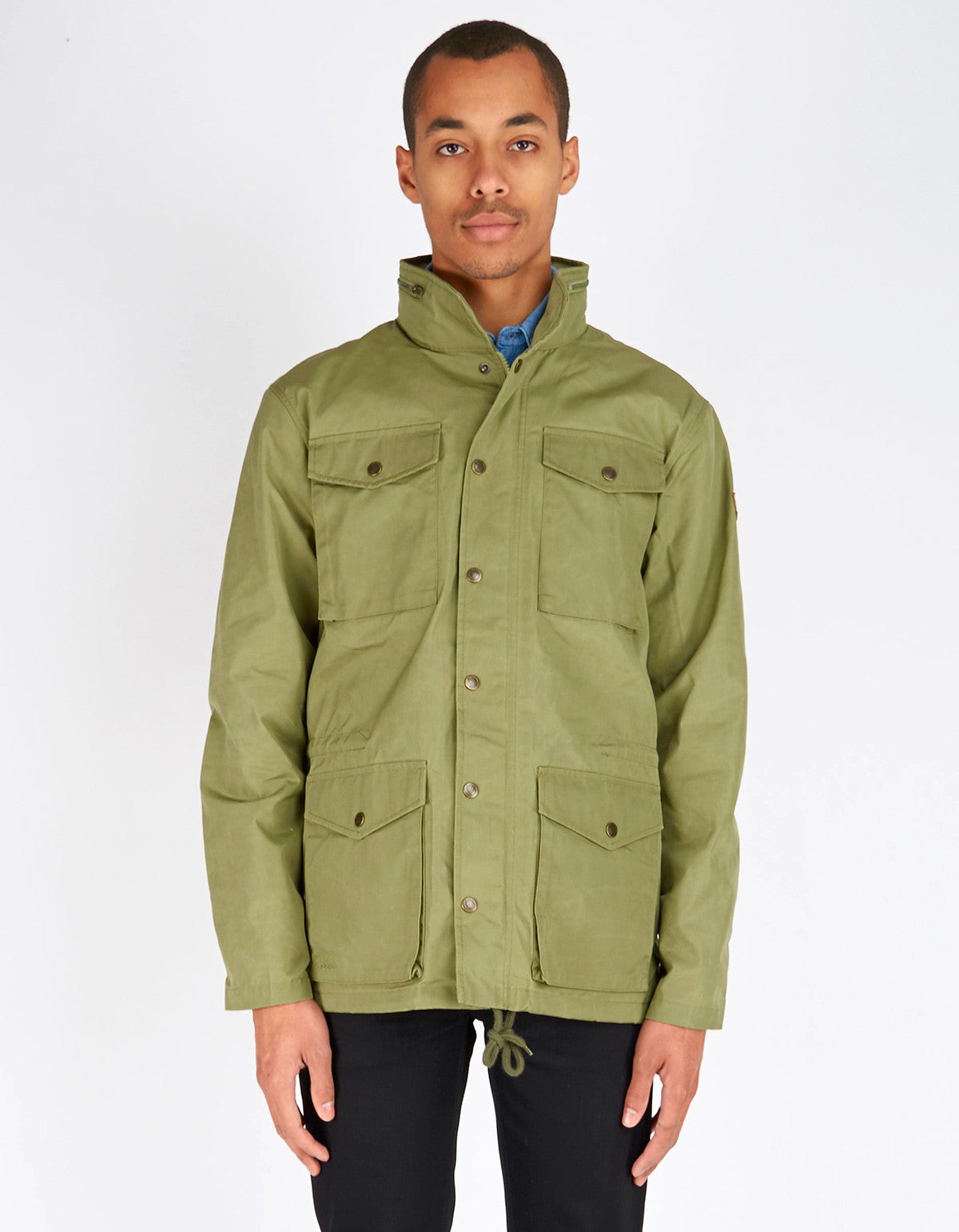 Fjallraven Raven Jacket Green - Still Life - 1