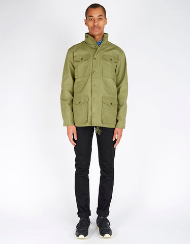 Fjallraven Raven Jacket Green - Still Life - 2