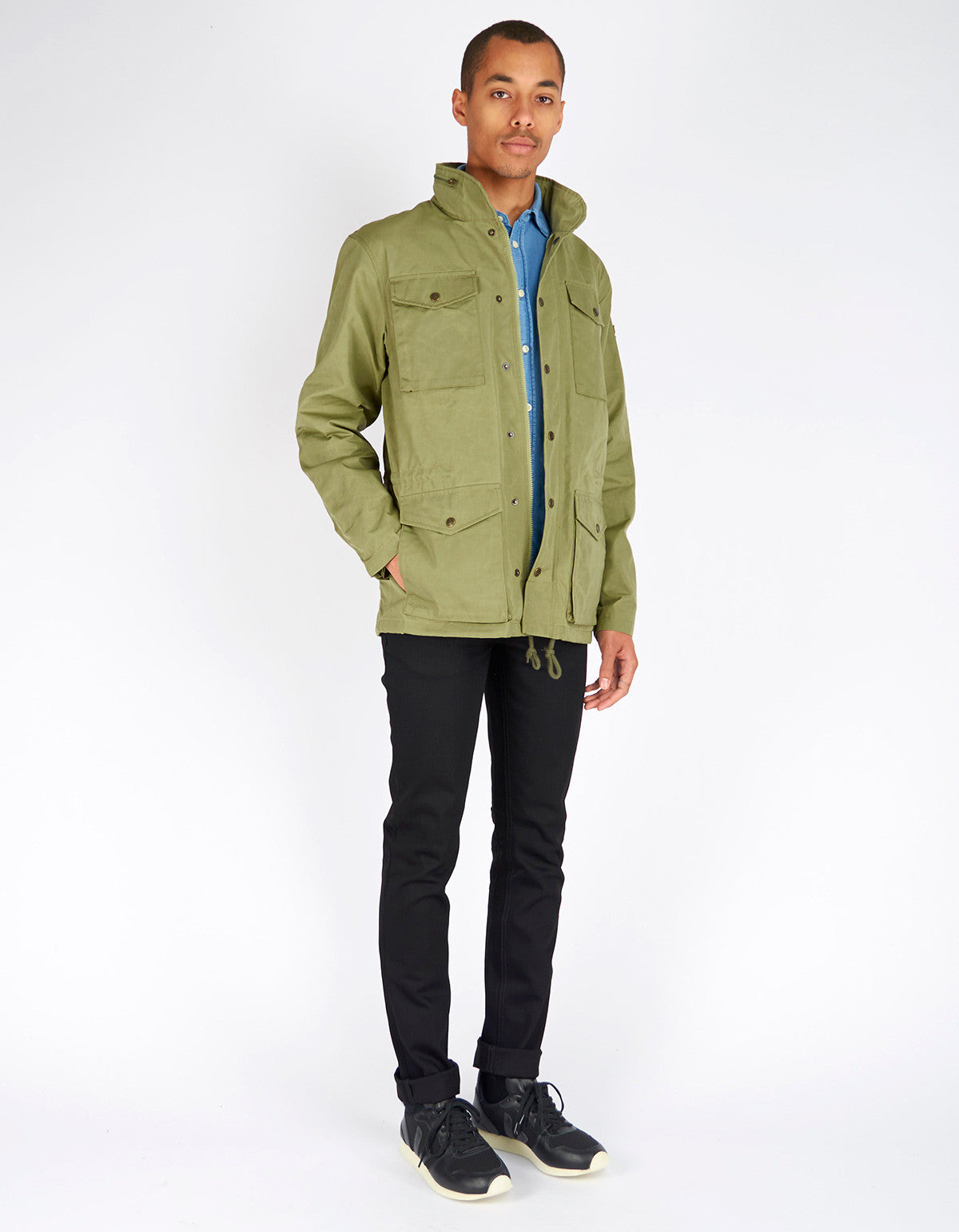 Fjallraven Raven Jacket Green