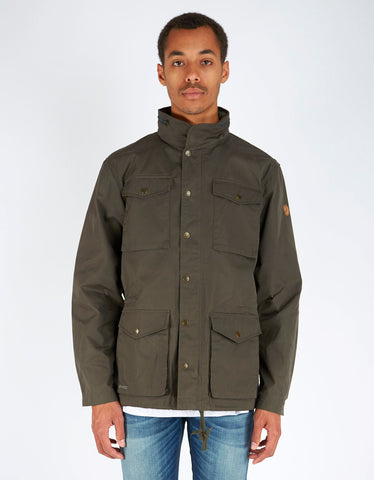 Fjallraven Raven Jacket Mountain Grey - Still Life - 1