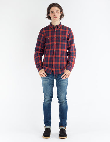 Fjallraven Skog Shirt Navy