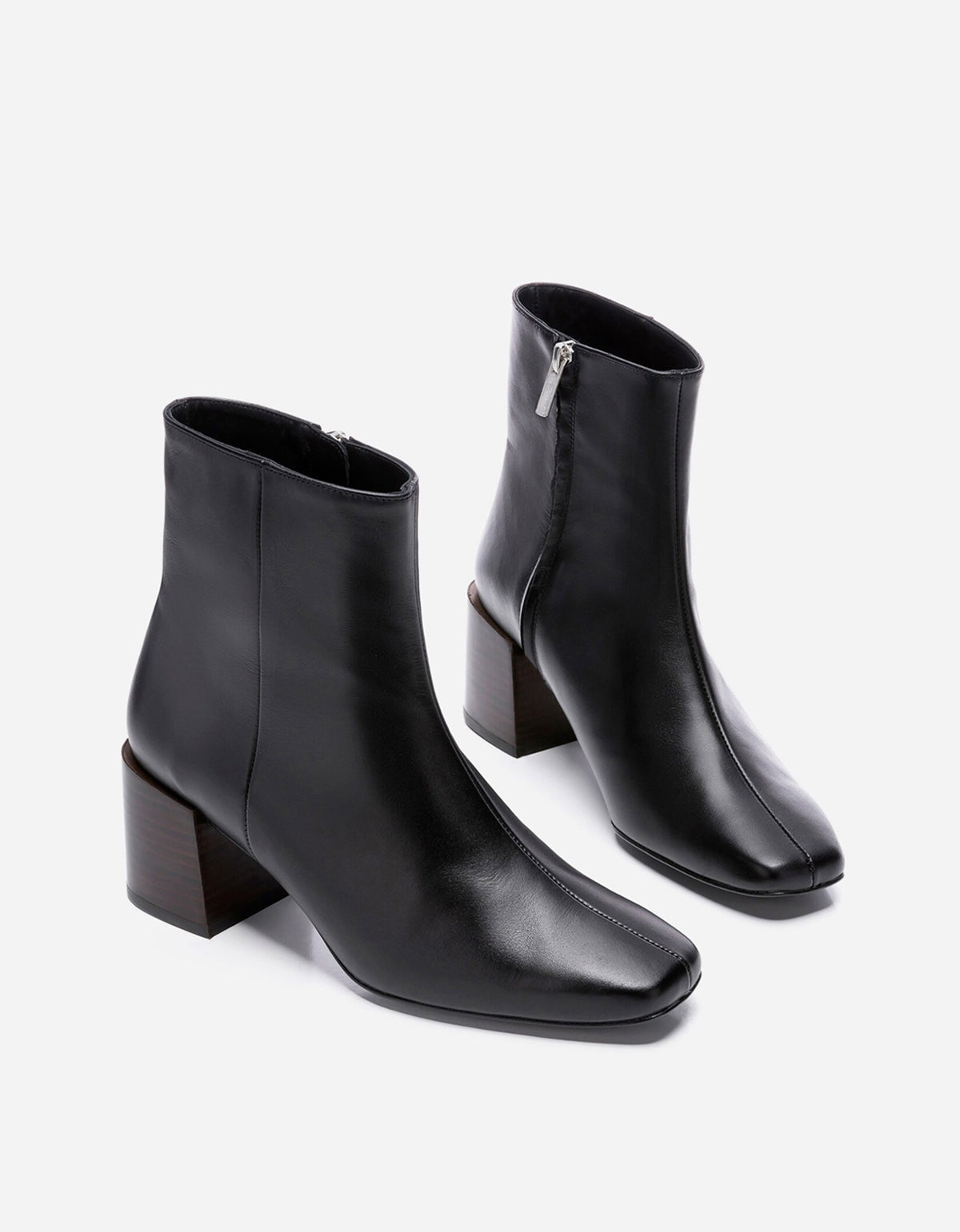 Flattered Ida Boot Black Leather