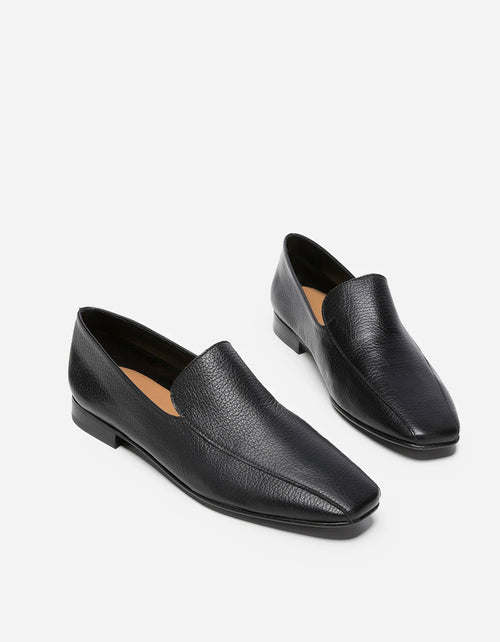 Flattered Viola Loafer Black