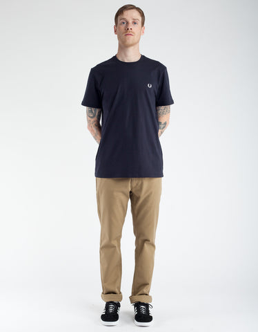 Fred Perry Crew Neck T-Shirt Navy