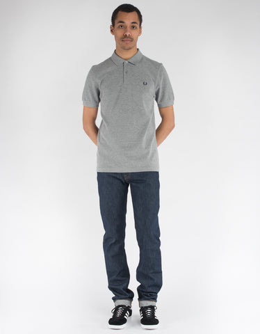 Fred Perry Plain Fred Perry Polo Steel Marl