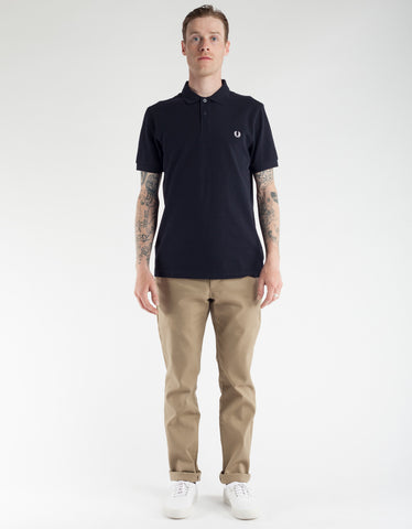 Fred Perry Slim Fit Polo Shirt Navy