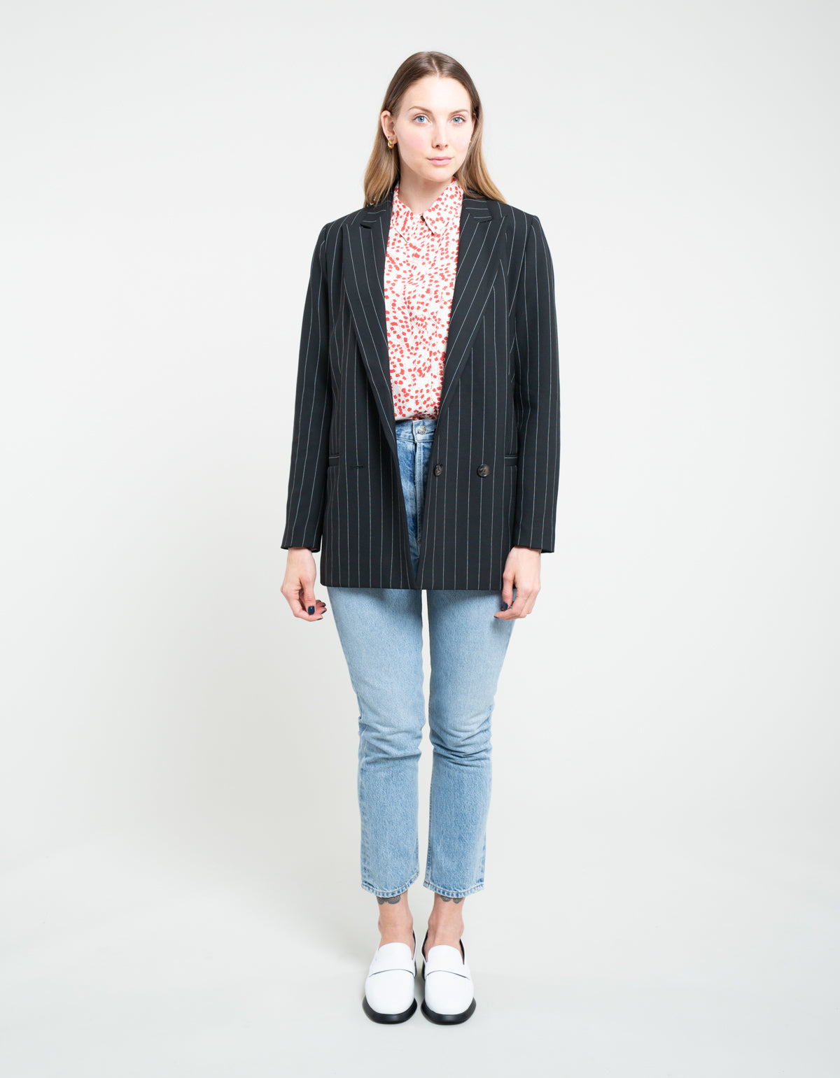 Ganni Suiting Blazer Black