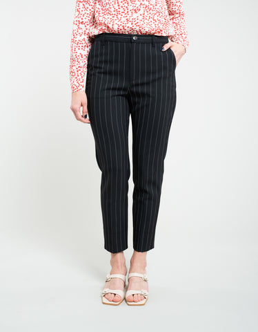 Ganni Suiting Slim Pants Black