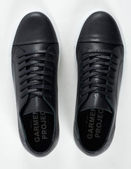 Garment Project Classic Lace Sneaker Black - Still Life - 4