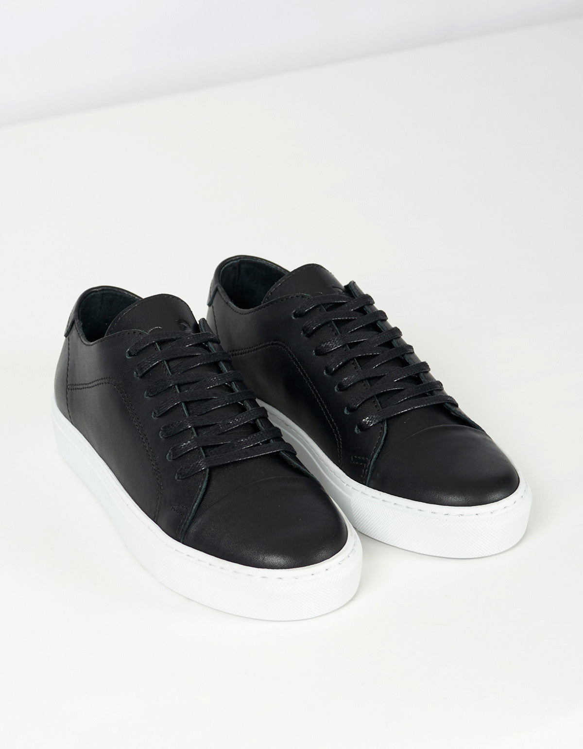 Garment Project Classic Lace Sneaker Black - Still Life - 3