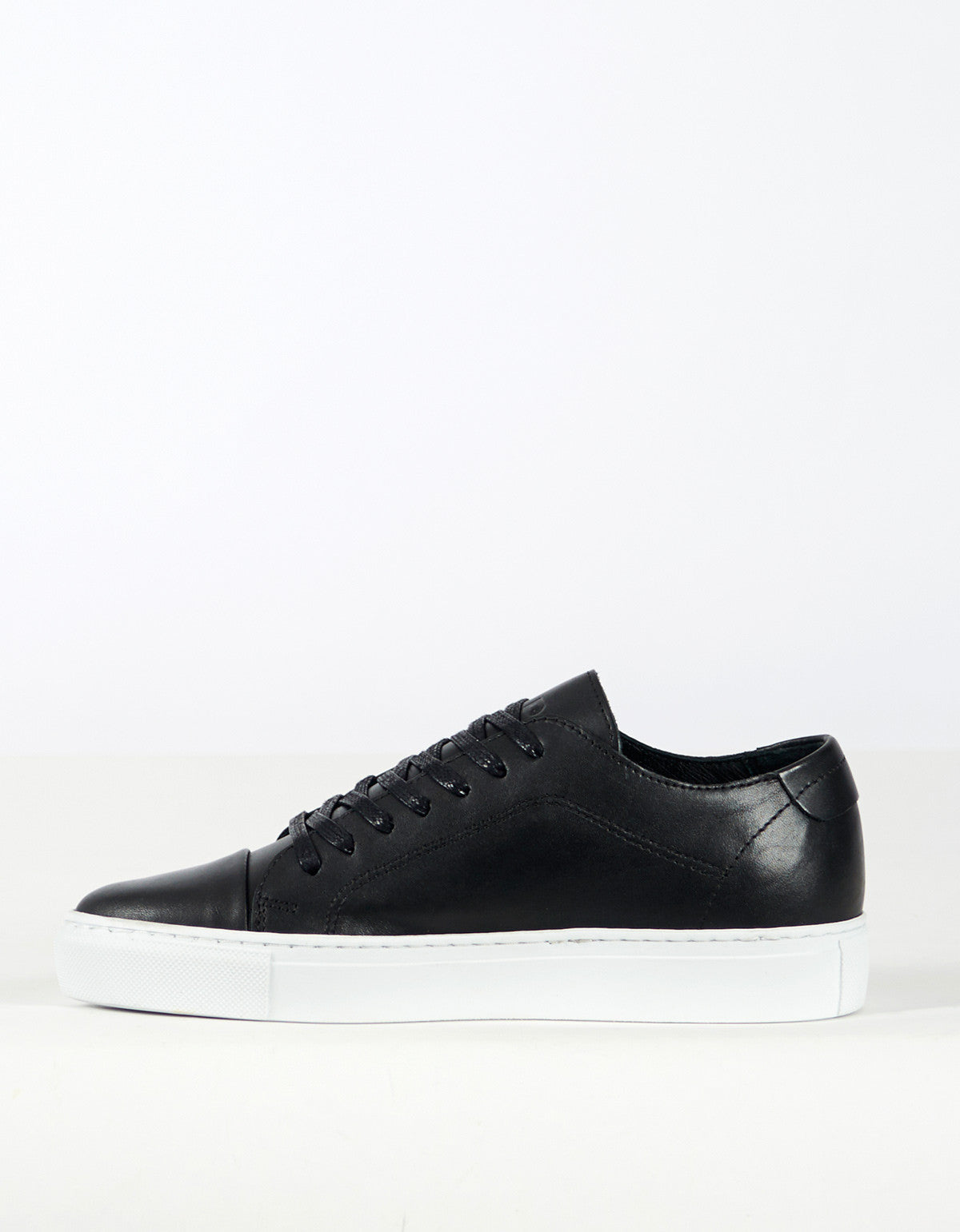Garment Project Classic Lace Sneaker Black - Still Life - 2