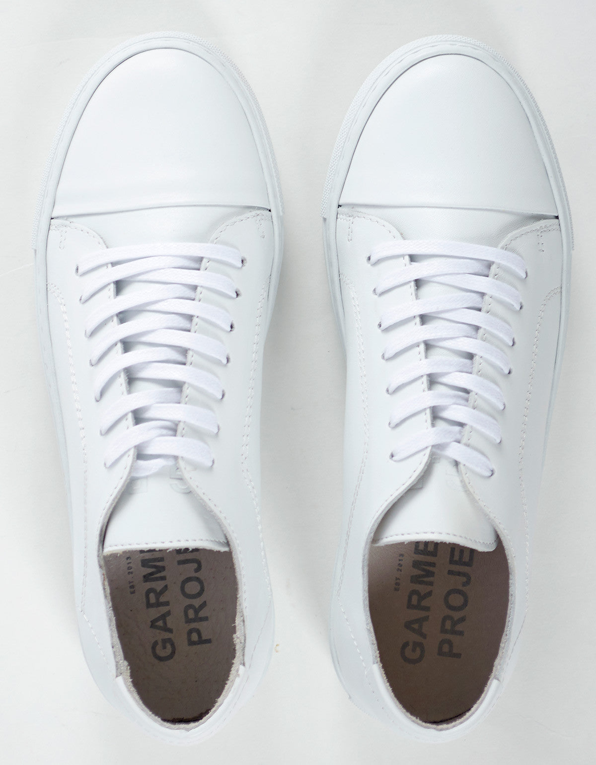 Garment Project Classic Lace Sneaker White - Still Life - 4