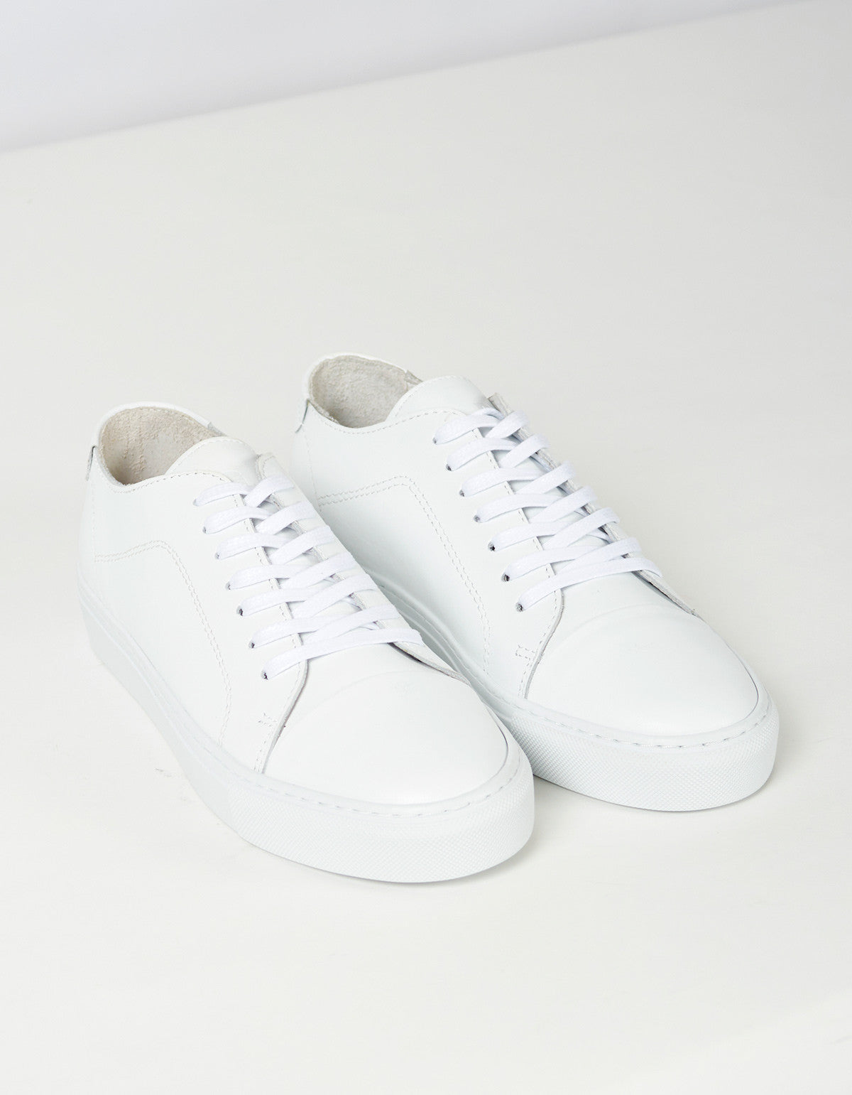 Garment Project Classic Lace Sneaker White - Still Life - 3