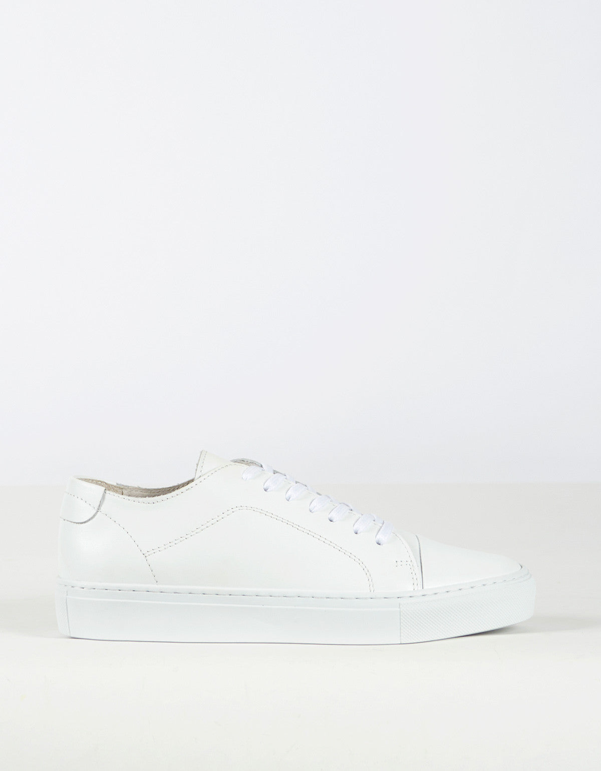 Garment Project Classic Lace Sneaker White - Still Life - 1