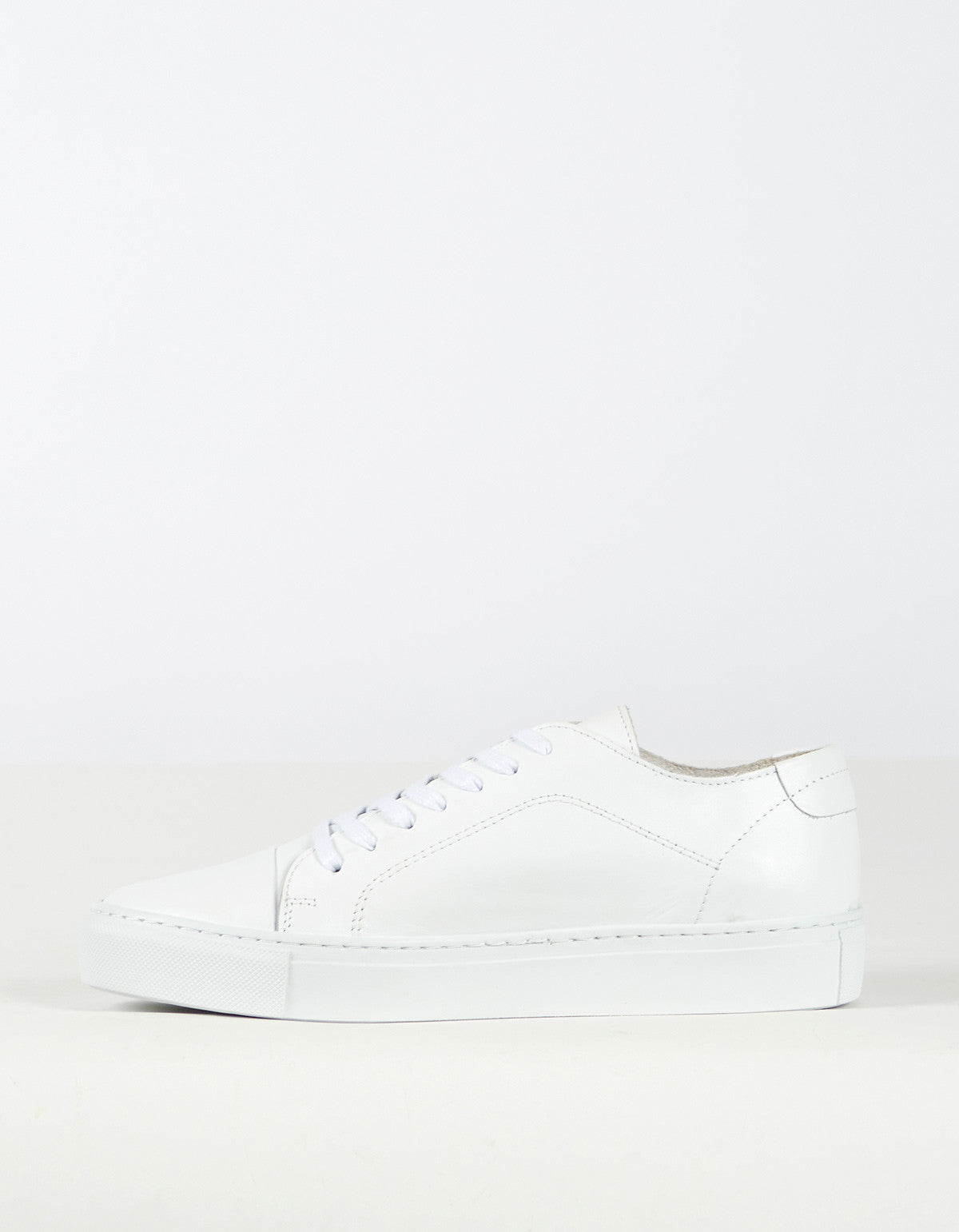 Garment Project Classic Lace Sneaker White - Still Life - 2