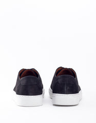 Garment Project Classic Lace Sneaker Black Nubuck
