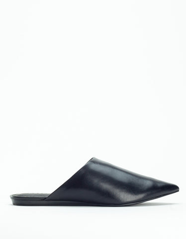 Grey City Martha Slide Black