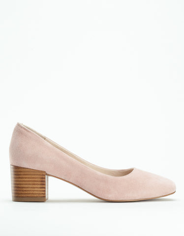 Grey City Tweed Heel Pink