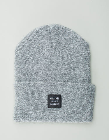 Herschel Supply Co. Abbott Beanie Heather Grey