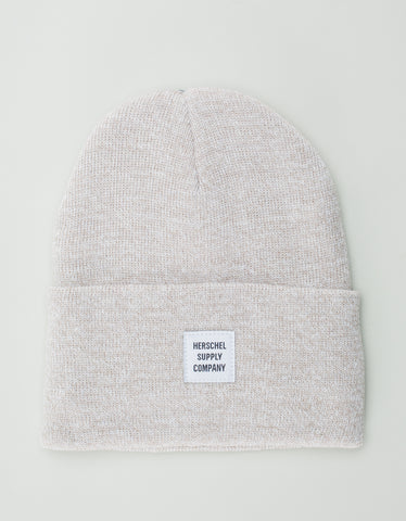 Herschel Supply Co. Abbott Beanie Heather Oatmeal