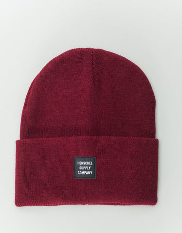 Herschel Supply Co. Abbott Beanie Windsor Wine