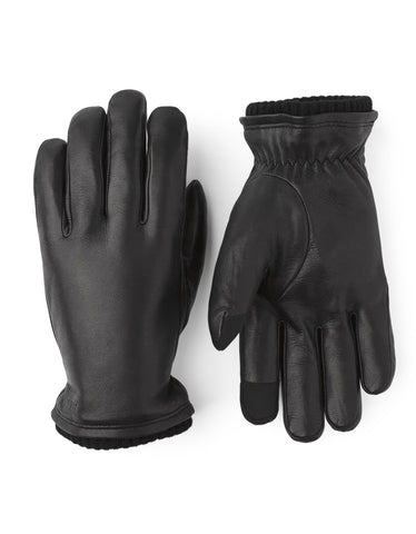 Hestra John Gloves in Black