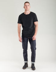 Homespun Knitwear Great Plains Tee Aged Black