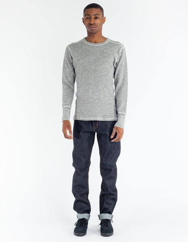Homespun Knitwear LS Rib Tee Black