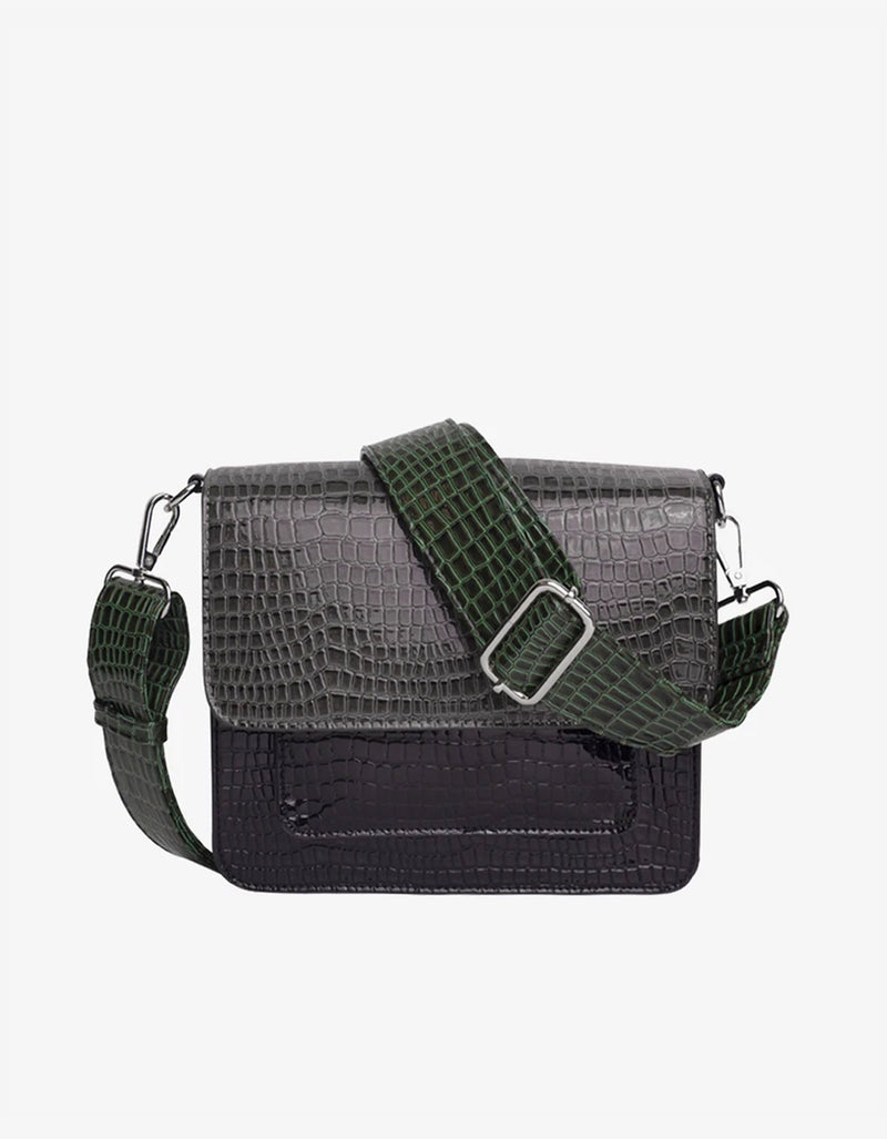 Hvisk Cayman Pocket Bag Dark Grey Multi