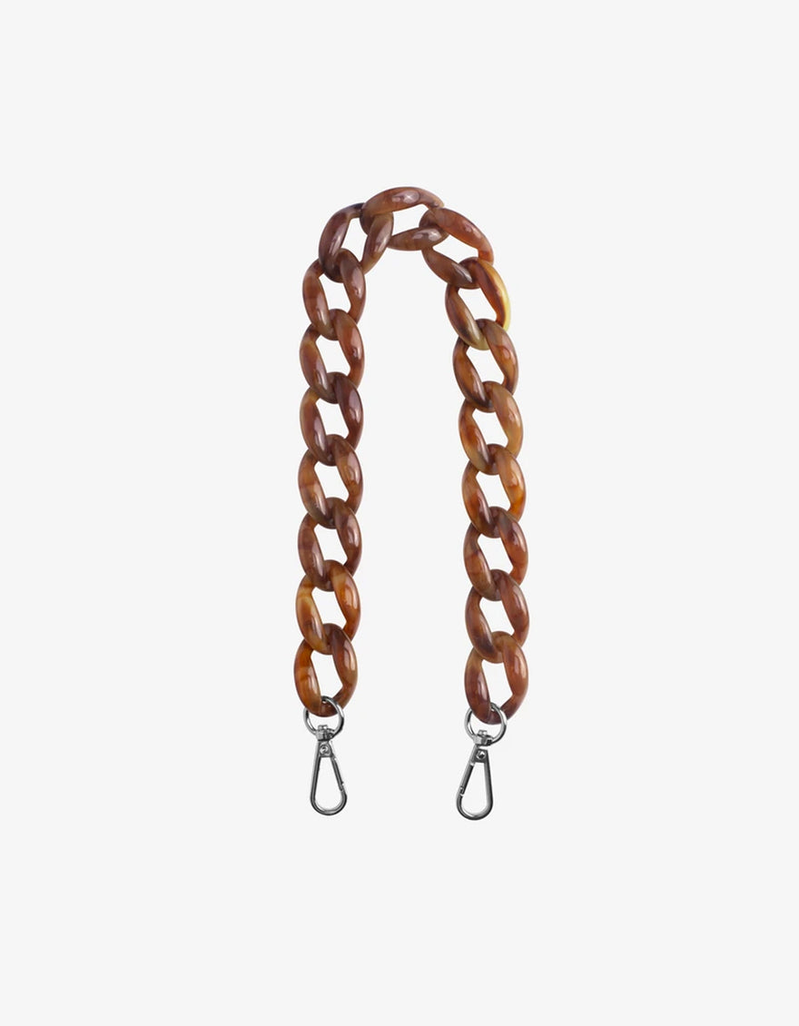 Hvisk Chain Handle Brown