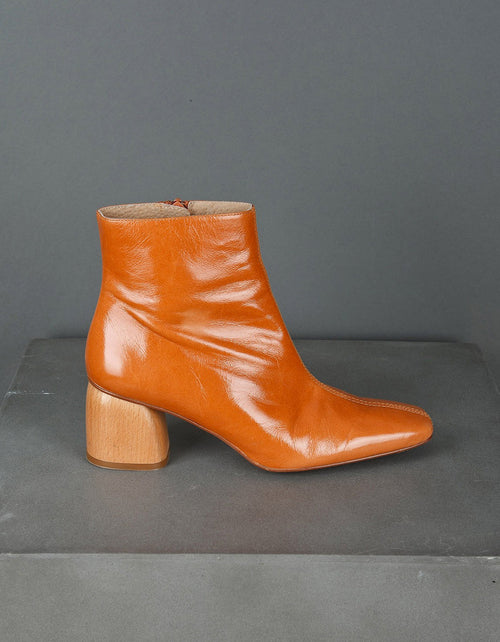 Indi & Cold Leather Boot Teak
