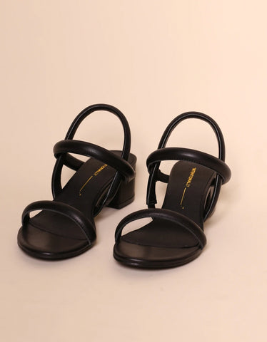Intentionally Blank Kimi Sandal Black