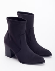 Intentionally Blank Janet Stretch Boot Black